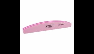 Баф для ногтей Kodi Полумесяц 180/180 (цвет: розовый)
