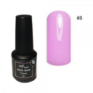 Цветная база Ideal Base Nailapex #8 Розовый леденец 15мл