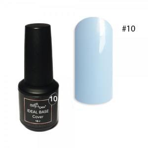Цветная база Ideal Base Nailapex #10 Голубой 15мл