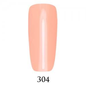 Гель-лак Adore Professional 7,5 мл №304 светлый розовый персик