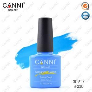 Гель-лак Canni №230 классический голубой