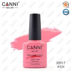 Гель-лак Canni №234 пастельный темно-розовый