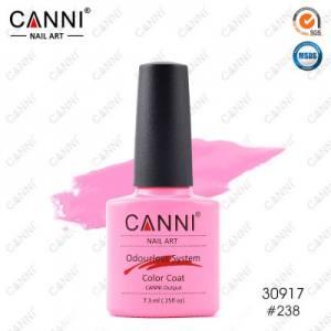 Гель-лак Canni №238 лилово-розовый