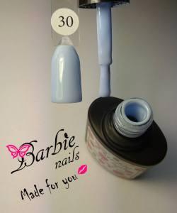 Гель-лак Barbie Nails №30 пастельный голубой