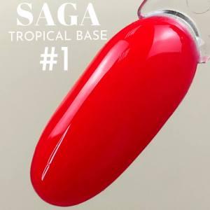 База цветная для гель-лака Saga Professional Tropical Base №01