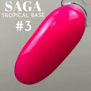 База цветная для гель-лака Saga Professional Tropical Base №03