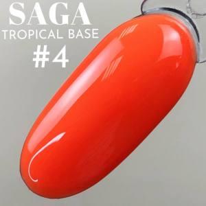 База цветная для гель-лака Saga Professional Tropical Base №04
