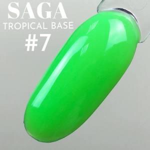 База цветная для гель-лака Saga Professional Tropical Base №07