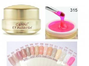 Гель для ногтей Canni UV Builder Gel Pink  315
