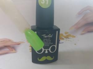 Гель-лак Tertio Baffo 10мл №31 молодая зелень