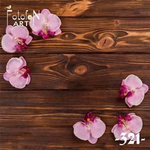 Фотофон виниловый 30см/30см Орхидея 321