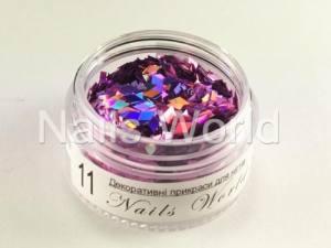 Ромб для дизайна ногтей Nails World  №011