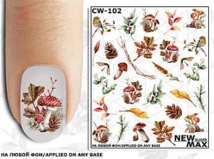 Слайдер-дизайн для ногтей New Max CW-102