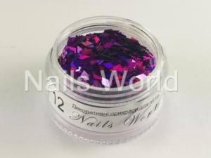 Ромб для дизайна ногтей Nails World  №012