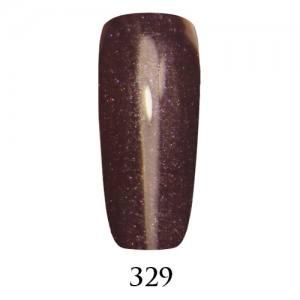 Гель-лак Adore Professional 7,5 мл №329 приглушенный сливовый с микроблеском