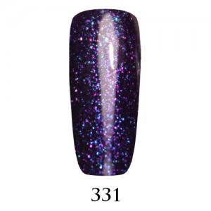 Гель-лак Adore Professional 7,5 мл №331 сливово-синий с глубоким сине-фиолетовым микроблеском
