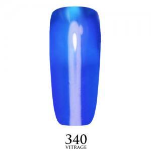 Витражный гель-лак Adore Professional 7,5 мл №340  синий