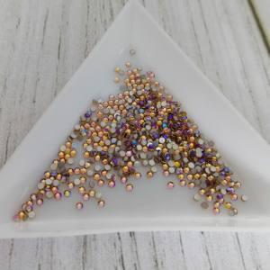 Стразы цветное стекло Topaz AB SS3 (1.4мм) 100шт (3-41)