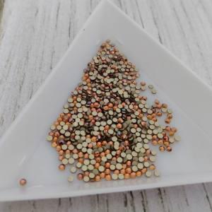 Стразы цветное стекло Amber SS3 (1.4мм) 100шт (3-53)