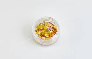 Конфетти для дизайна ногтей Mart №7 разноцветная осень