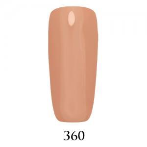 Гель-лак Adore Professional 7,5 мл №360 нежный персиково-бежевый