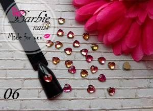 Стразы фигурные стекло BarbieNails 1шт №6