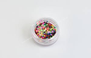 Конфетти для дизайна ногтей Mart №1 радужное