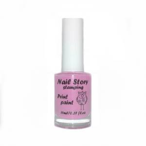 Лак для стемпинга Nail story №20 лиловый 11мл
