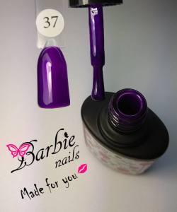 Гель-лак Barbie Nails №37 сине-сиреневый микроблеск