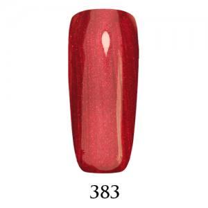 Гель-лак Adore Professional 7,5 мл №383 красно-малиновый с микроблеском