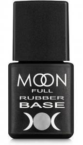 Базовое каучуковое покрытие для гель-лака Rubber Base MOON FULL, 8 мл