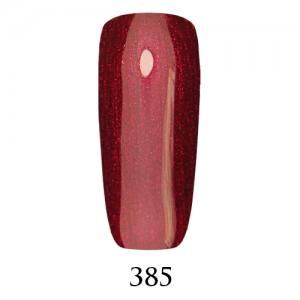 Гель-лак Adore Professional 7,5 мл №385 рубиновый с микроблеском