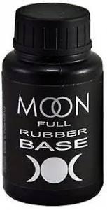 Базовое каучуковое покрытие для гель-лака Rubber Base MOON FULL, 30 мл