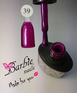 Гель-лак Barbie Nails №39 сиреневый микроблеск