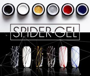 Цветной гель для декора Spider Gel 5г (на розлив)