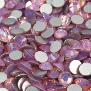 Стразы розовый опал pink opal SS3 100шт