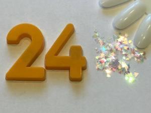 Декор для дизайна в баночке Brilliant Crystal №24
