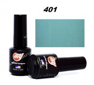 Гель-лак My Nail 8мл №401 светло-бирюзовый, эмаль