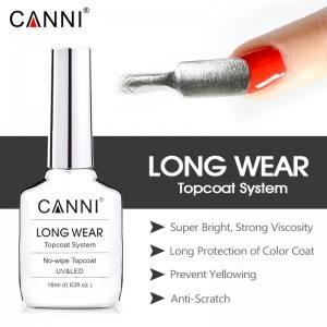Финишное покрытие CANNI бриллиантовый блеск, 18 ml без липкого слоя
