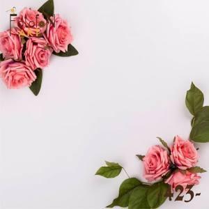 Фотофон виниловый 30см/30см Розы №423