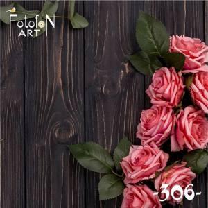 Фотофон виниловый 30см/30см Розы №306