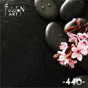 Фотофон виниловый 30см/30см Цветущая вишня №440