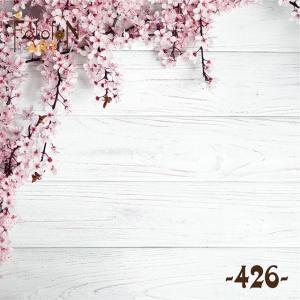 Фотофон виниловый 30см/30см Цветущая вишня №426