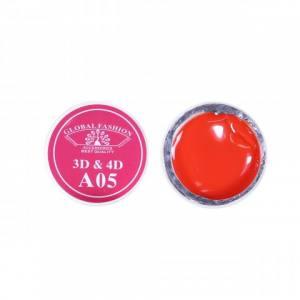 Гель 4D Global Fashion для лепки, А05