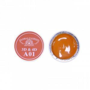 Гель 4D Global Fashion для лепки, А01