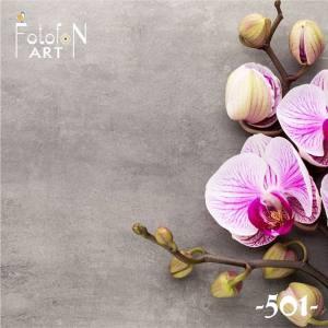 Фотофон виниловый 30см/30см Орхидея №501