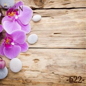 Фотофон виниловый 30см/30см Орхидеи №622
