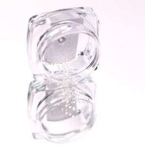 Komilfo Металлические Текстурные Заклепки серебро круг маленький, 1,2 мм, 50 шт