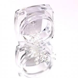 Komilfo Металлические Текстурные Заклепки серебро овал большой, 1,5*3 мм, 50 шт