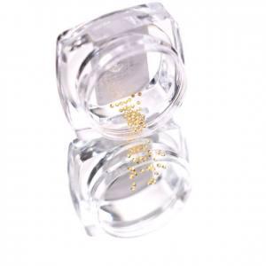 Komilfo Металлические Текстурные Заклепки золото круг маленький, 1,2 мм, 50 шт
